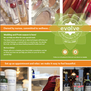 Styling & Photography for Evolve Apothecary