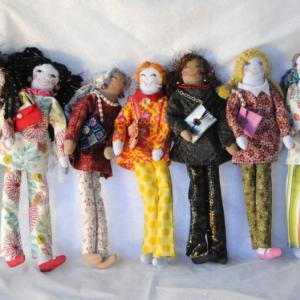 Ragdolls -Les Olives- Design and fabrication by Olivia Sauerwein